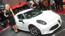 2013 Alfa Romeo 4C Launch Edition live in Geneva