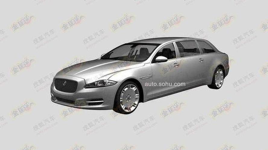 Jaguar extra-long wheelbase XJ heading to China ?