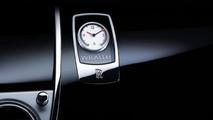 Rolls-Royce Wraith dashboard clock