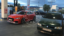Audi TT RS spy photo
