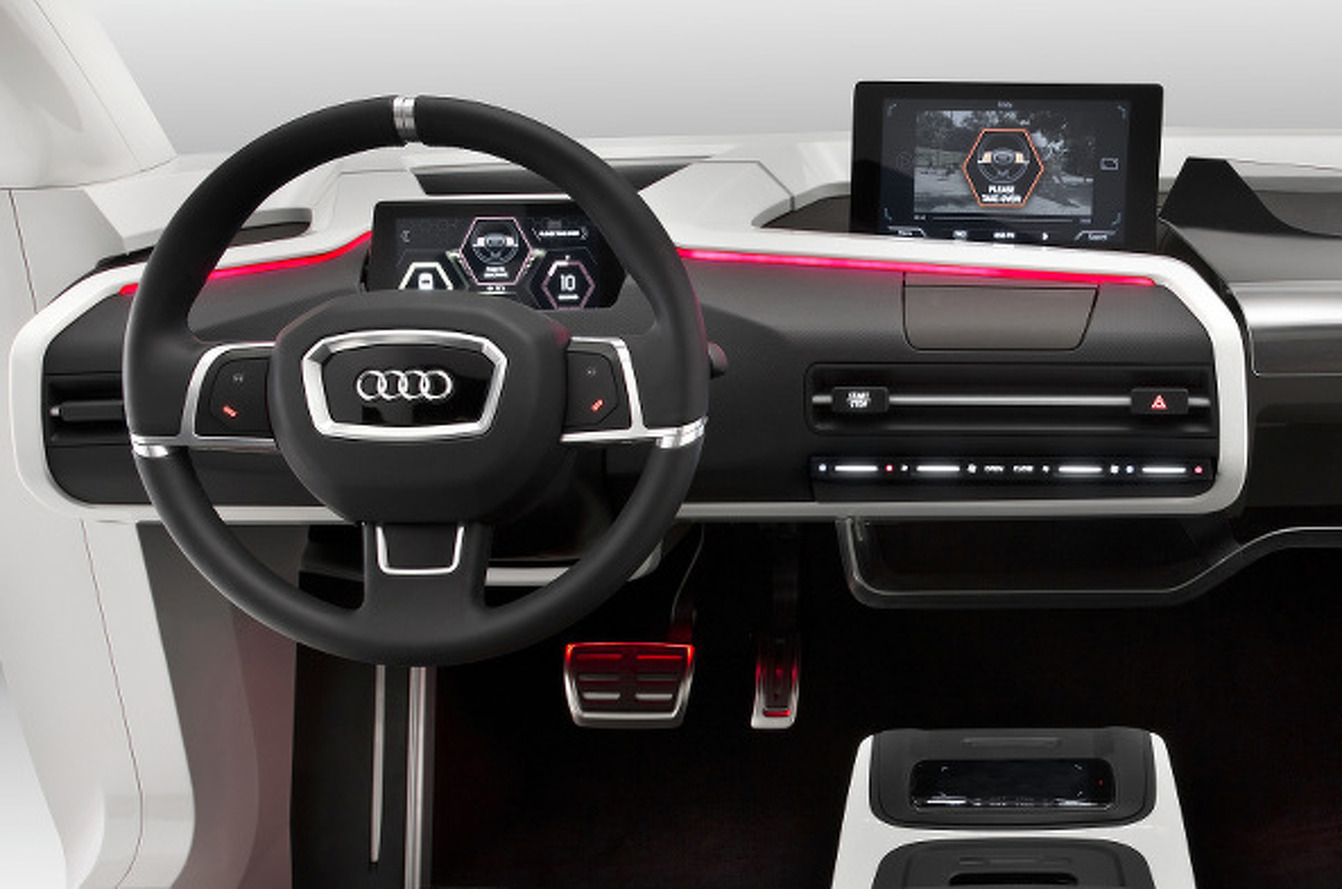 Audi Concept Envisions Cabin of Cars in 2025 [w/video]