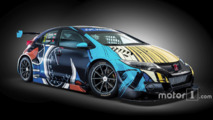 Honda Civic WTCC art car