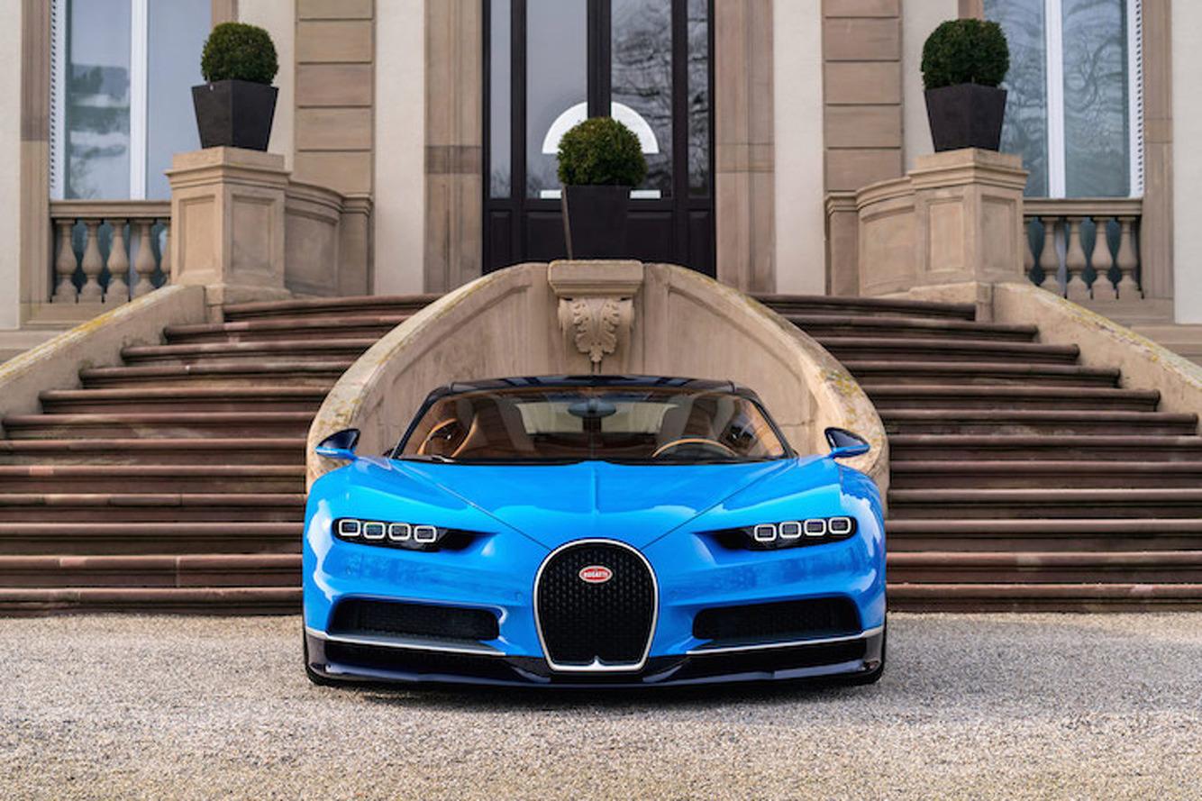 Bugatti Debuts 1,500HP Chiron Hypercar