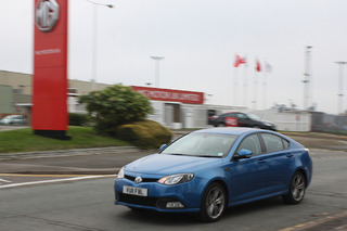 Without Warning, The MG6 Sedan Makes a Swift Brexit