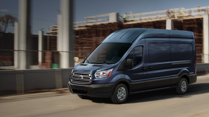 Limited Edition Ford Transit Is A Racy Van With Bucket Seats
