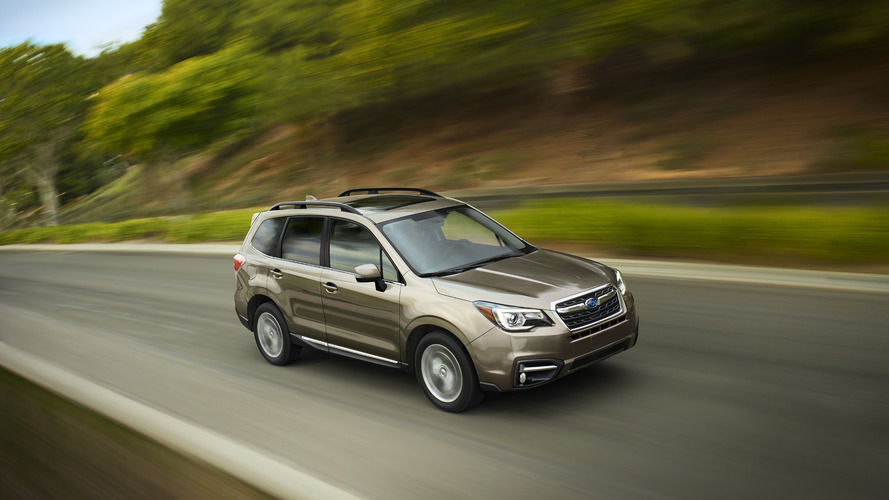 2017 Subaru Forester unveiled with revised styling & updated tech