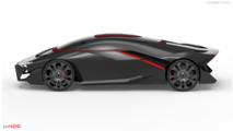Tomasz Prygiel'den Lamborghini LV-426 konsepti