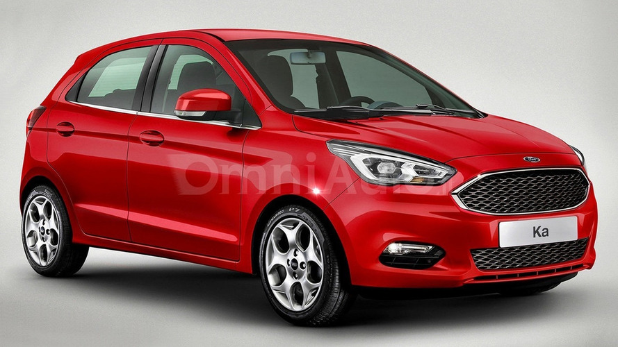 New Europe-bound Ford Ka speculatively rendered