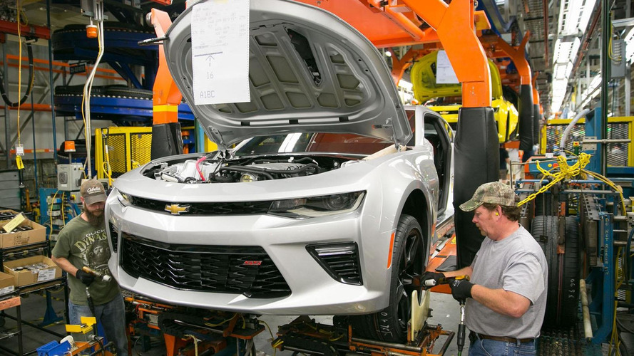 GM invests $175 million for Chevrolet Camaro production