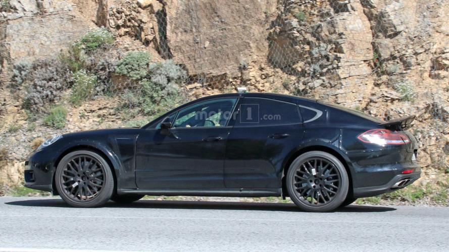 Potential Porsche Panamera coupe prototype spied?
