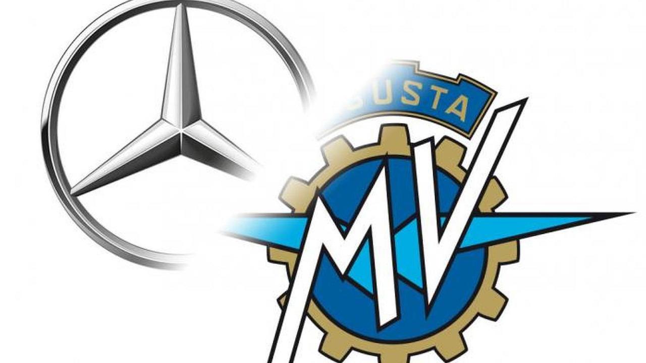 Mercedes-Benz & MV Agusta logos