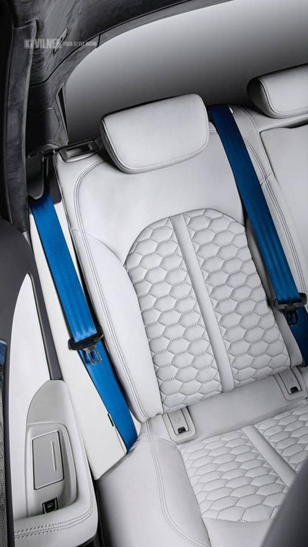 Новая обшивка сидений Audi RS6 Avant от Vilner