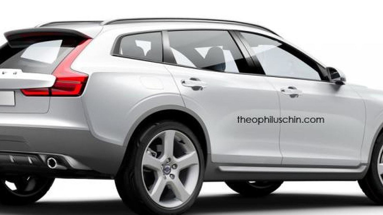 Volvo XC80 rendering