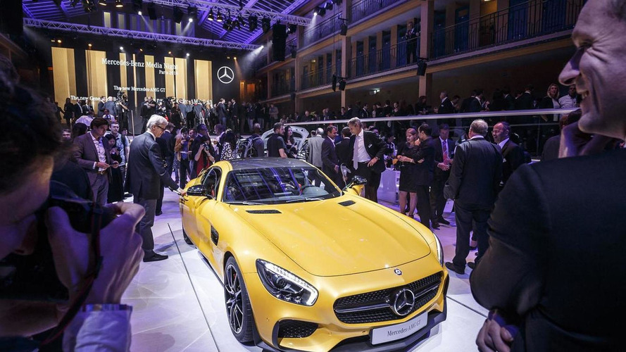 Mercedes-AMG GT shows the sportier side of Paris