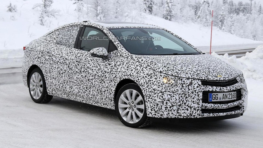 Mysterious Chevrolet Cruze prototype spied in Europe