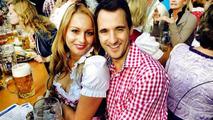 Sven Heidfeld with Nicoletta Frentzen / Sven Heidfeld Facebook page