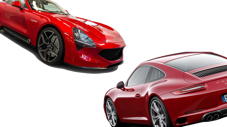 TVR Griffith vs Porsche 911: The Numbers