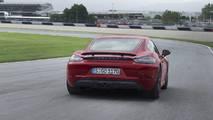2018 Porsche 718 Boxster ve Cayman GTS