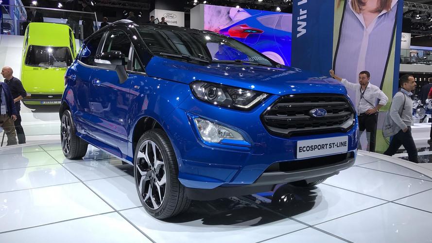 Novo Ford EcoSport antecipa versão 4x4 com modelo ST-Line