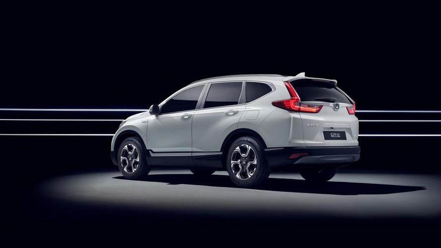 2018 Honda CR-V Hybrid Prototype (Avrupa versiyonu)