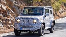 Suzuki Jimny 2018 fotos espia