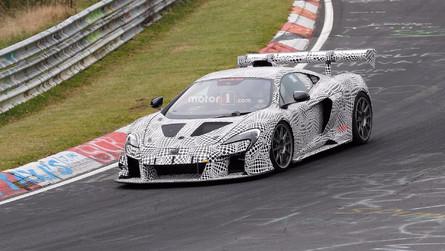Gizemli McLaren 675LT yarış aracı Nürburgring'de testte