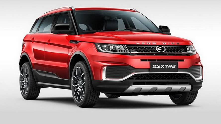 Landwind X7 Still Looks Oddly Familiar Even After Facelift