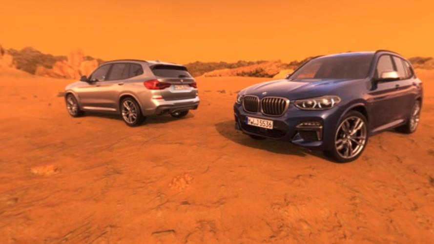 BMW X3'ü Mars'ta sürmeye ne dersiniz?