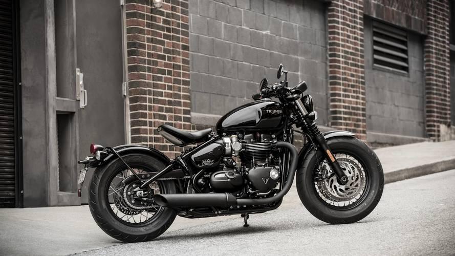 2018 Triumph Bonneville Bobber Black