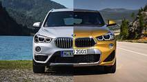 BMW X2 2018  vs. X1