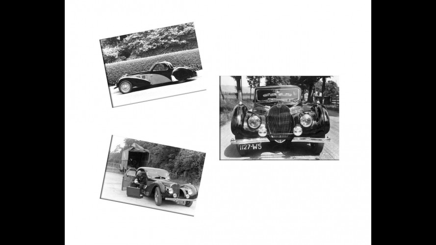 Il ritrovamento della Bugatti 57S Atlante