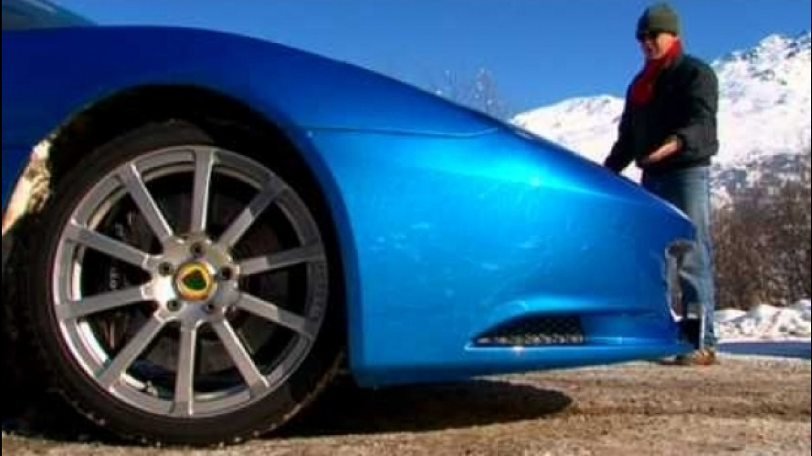 Lotus Evora: calde emozioni ghiacciate, color Laser Blue [VIDEO]