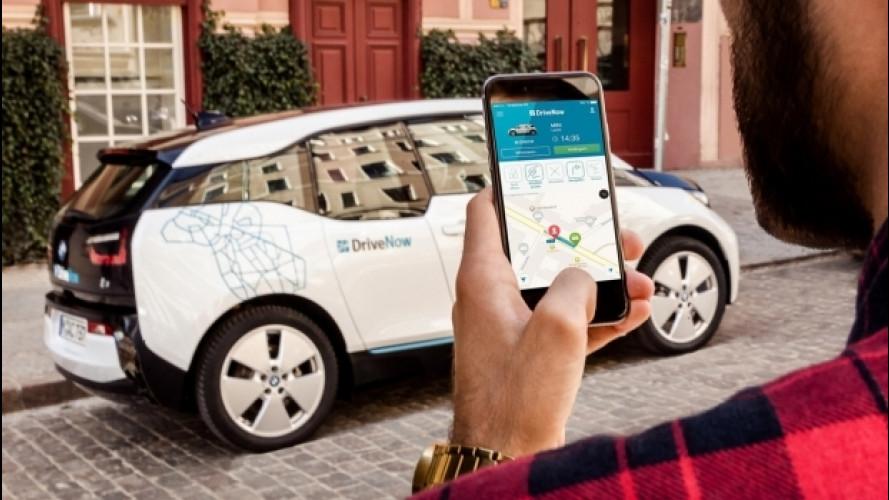 DriveNow, anche car sharing elettrico