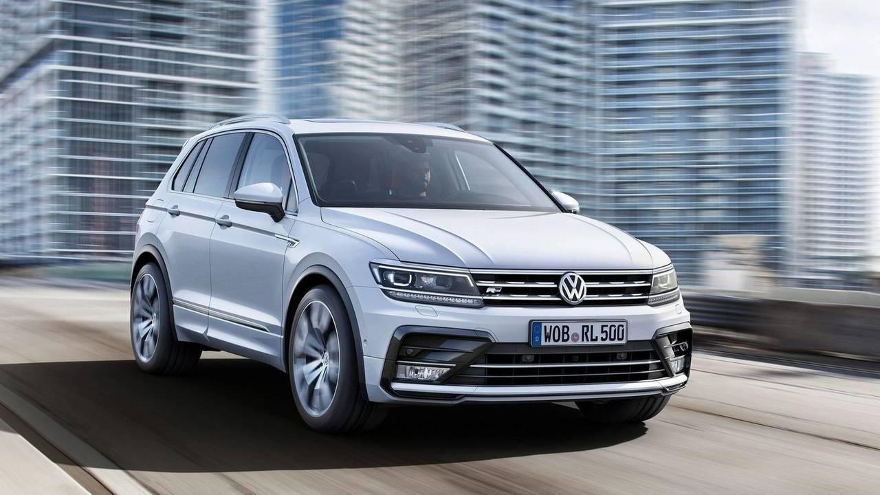 7 - Volkswagen Tiguan