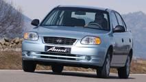 2003-2006 Hyundai Accent Sedan