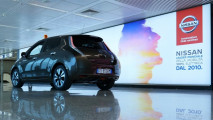 Nissan Leaf, lo shuttle a Fiumicino