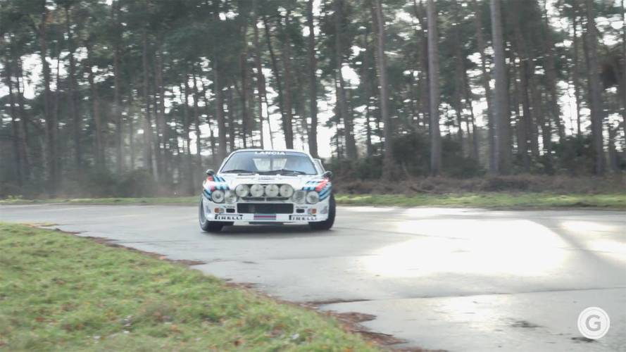 Lancia Rally Cars Are Horrible At Carrying Christmas Presents