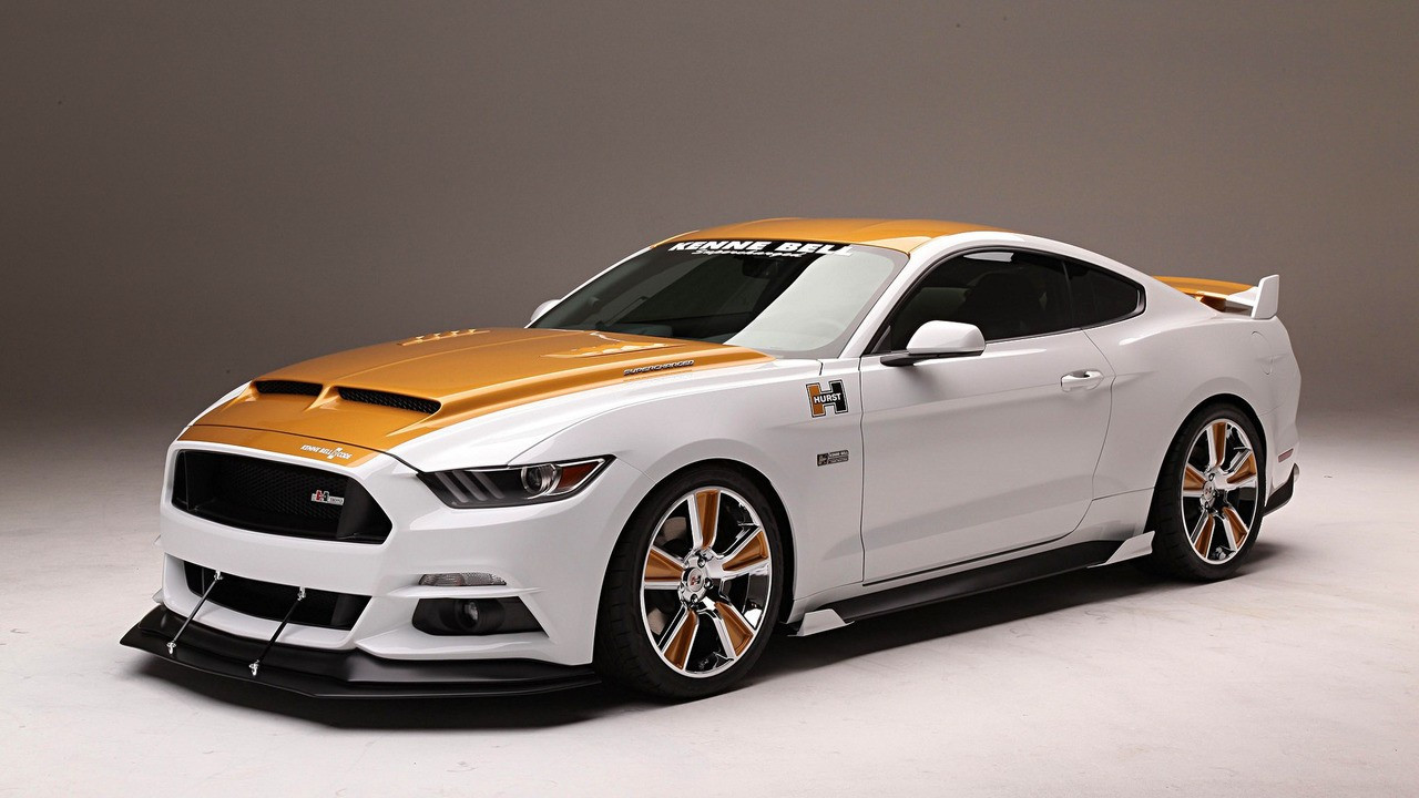 Supercharged 750-hp Ford Mustang puts on flashy suit for SEMA 001