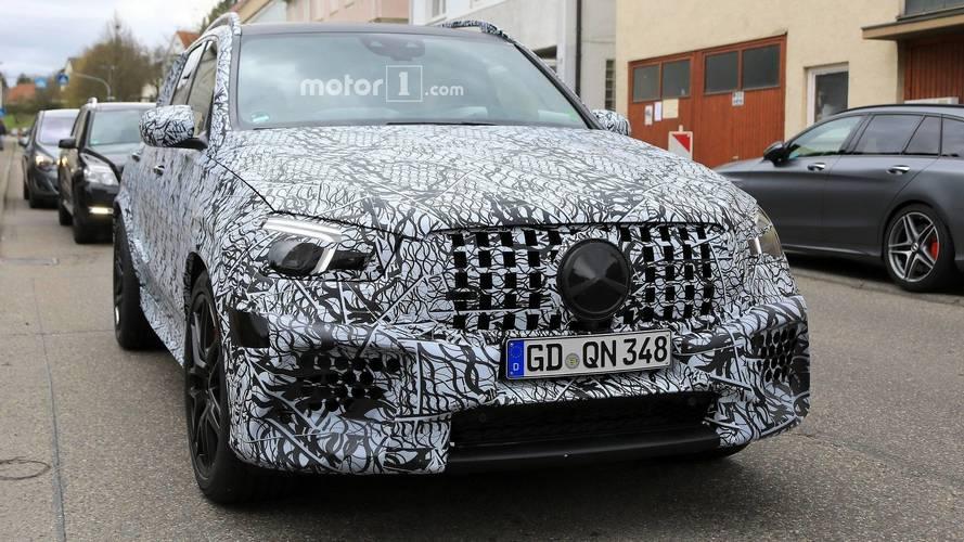 Photos espion - La future Mercedes-AMG GLE 63 surprise sur la route