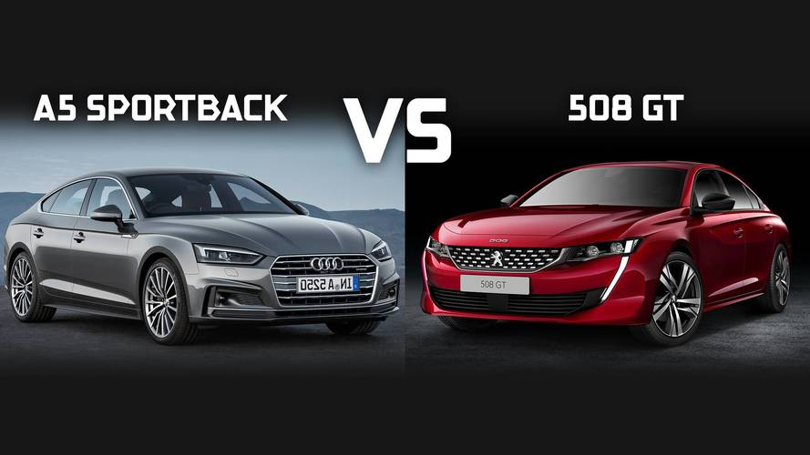 Peugeot 508 vs Audi A5 Sportback