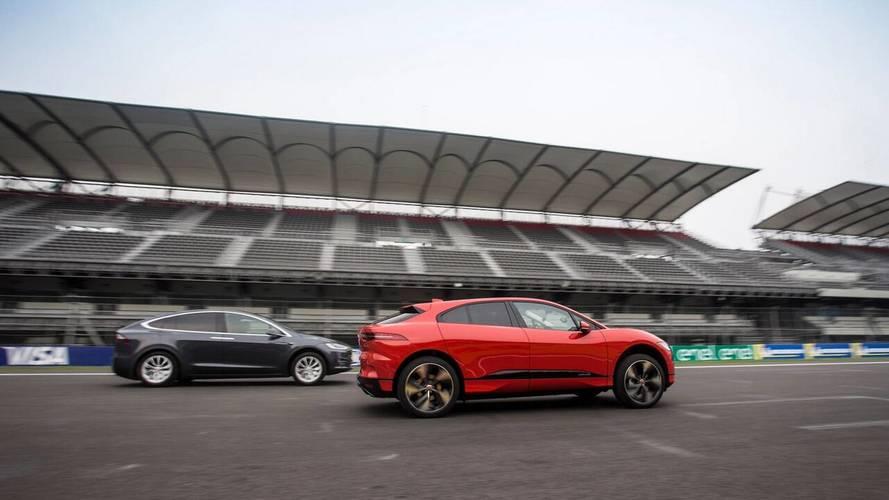 Le Jaguar I-Pace s'est mieux vendu que le Model X en avril