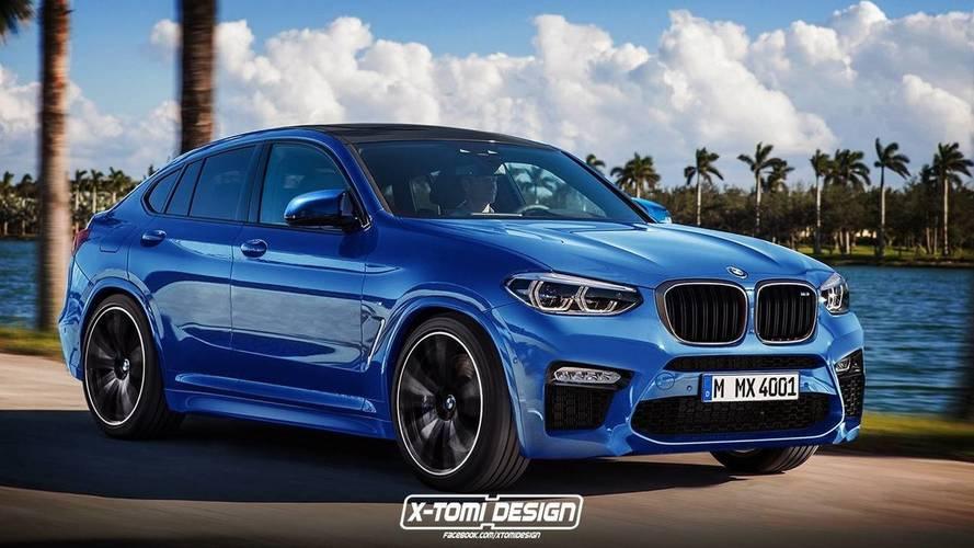 BMW X4 M muhtemelen böyle görünecek