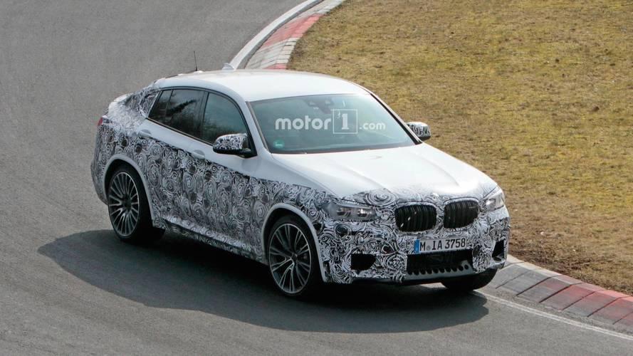 BMW X4 M, Nürburgring'de test edilirken görüntülendi