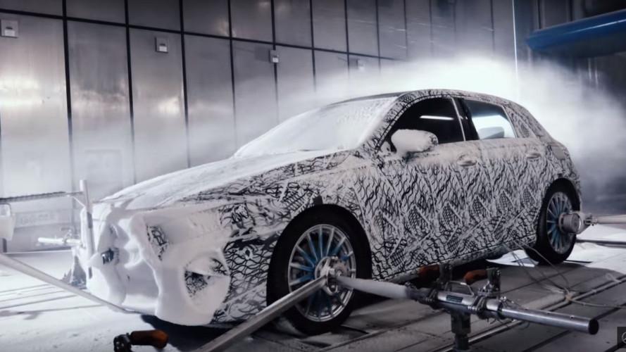 Mercedes Classe A, il video teaser della nuova generazione