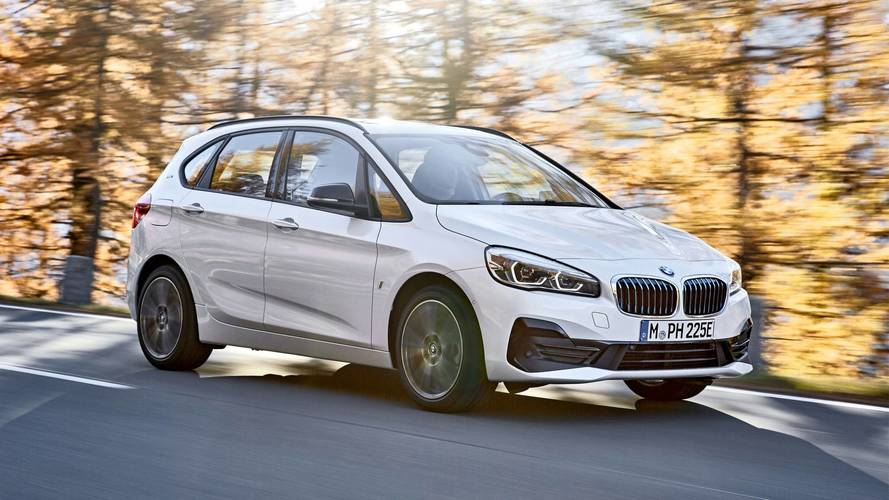 BMW 2 Series Active Tourer and Gran Tourer Facelift
