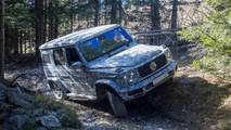 2018 Mercedes G-Class prototype ride-along