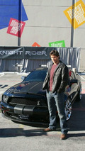 Publicity shots of the new KITT