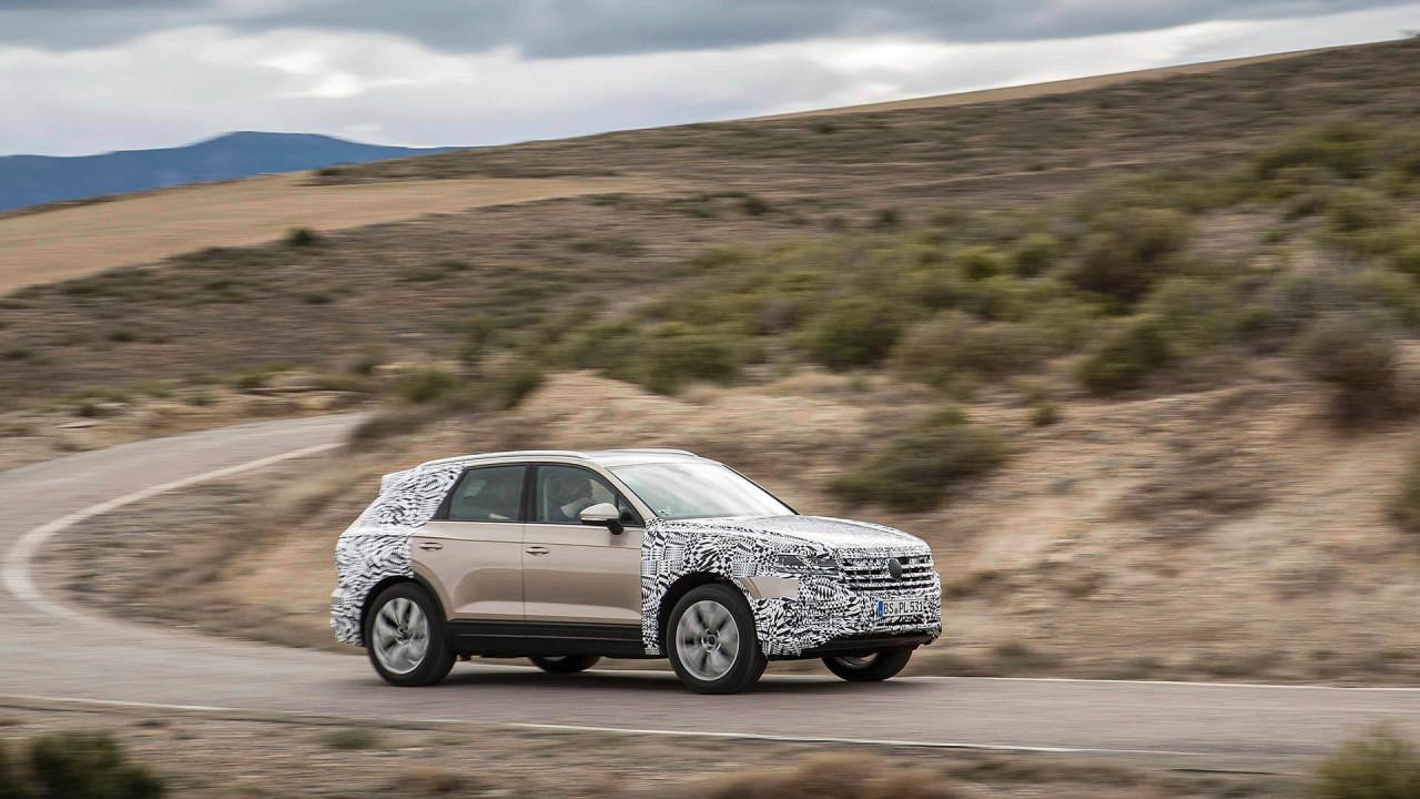 Neuer VW Touareg: Marktstart im Juli 2017