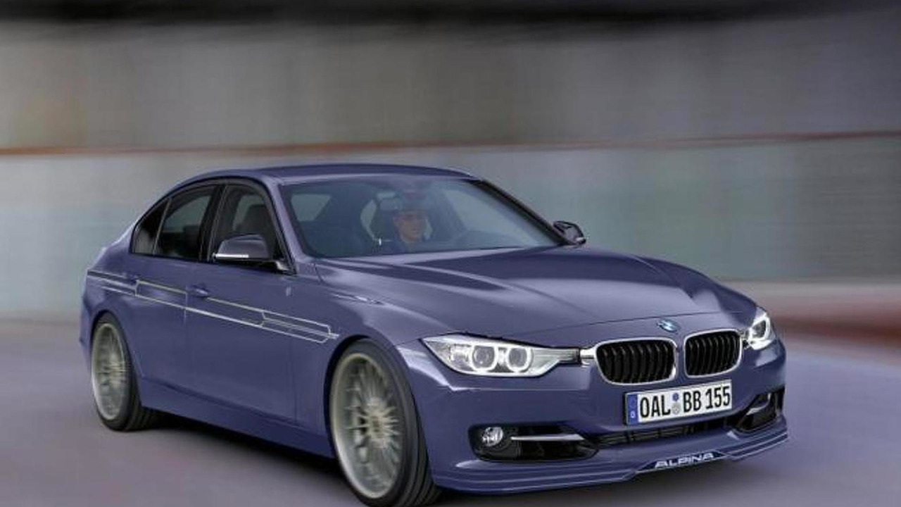 Alpina B3 BiTurbo (F30) speculative rendering 28.07.2012