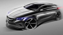 2013 Mercedes A-Class teaser image - low res - 01.3.2012
